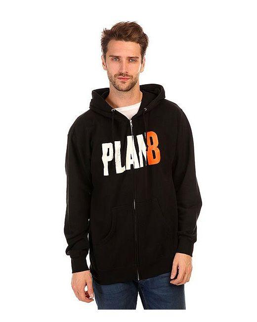 Plan B   Мужская Чёрная Толстовка Классическая Publicity Black