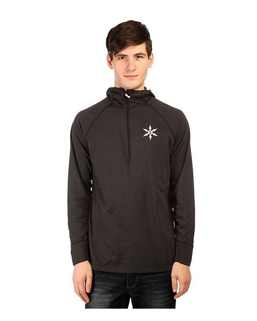 Airblaster | Мужское Чёрное Термобелье Верх Ninja Shirt Black