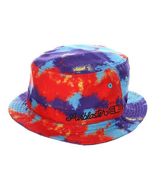 Airblaster | Мужская Многоцветная Панама Air Bucket Tie Dye