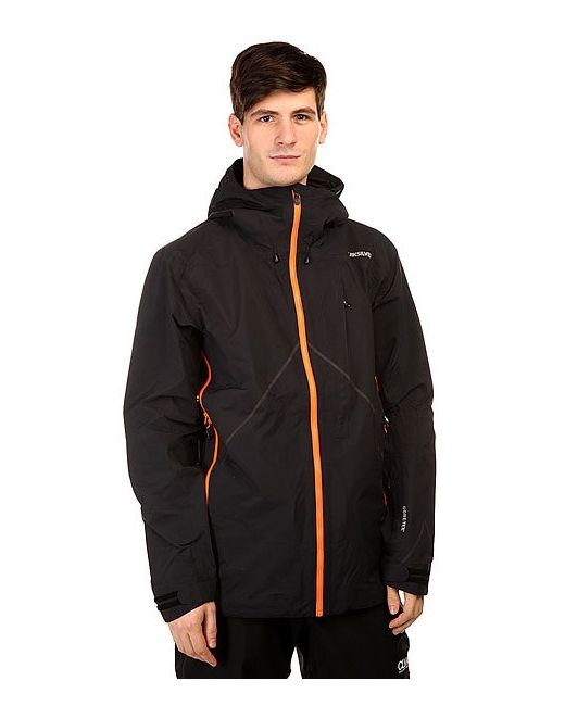 Quiksilver | Мужская Чёрная Куртка Thats It Jkt Black