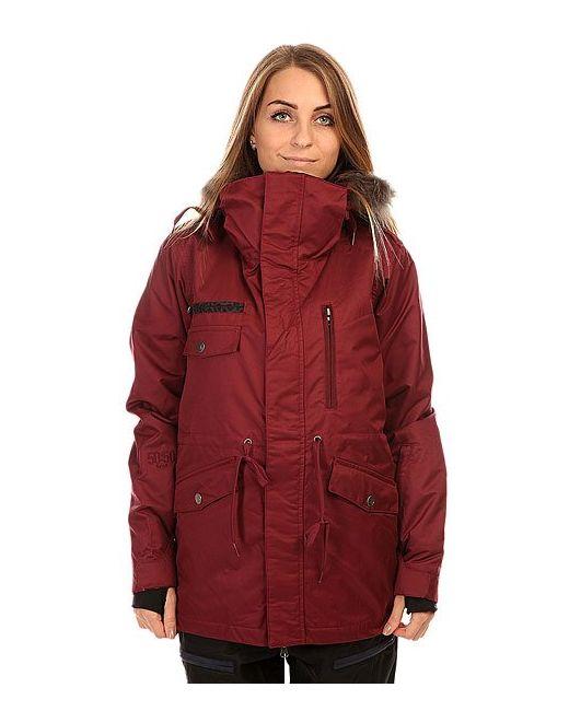 Romp | Женская Красная Куртка Женская 5050 Grind Wannabe Jacket Burgundy