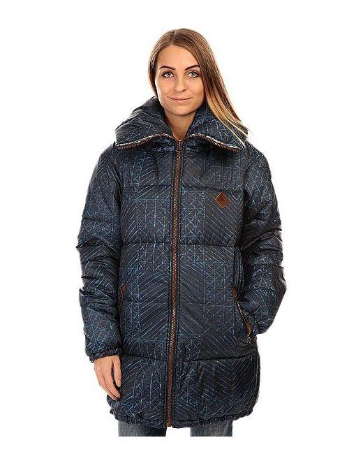 Burton   Женская Синяя Куртка Женская Зимняя Женский Wb Logan Jkt