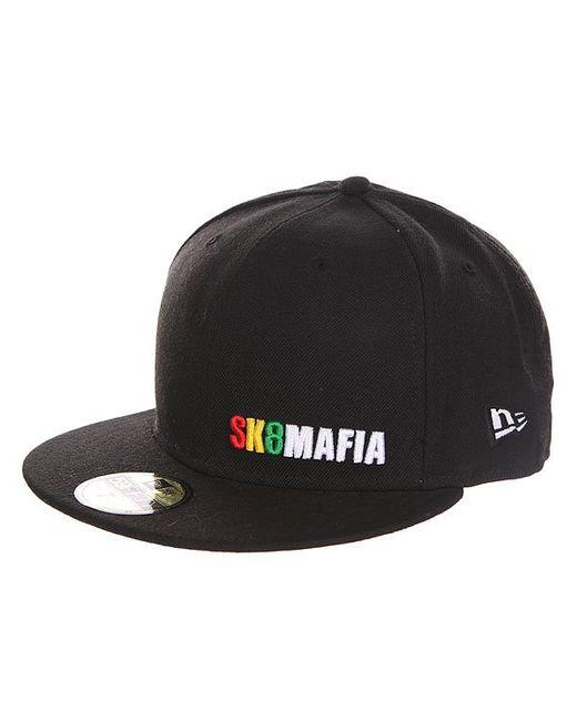 Sk8Mafia   Мужская Чёрная Бейсболка С Прямым Козырьком Og Rasta New