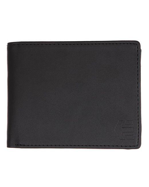 Etnies | Мужской Чёрный Кошелек Addiss Wallet Black
