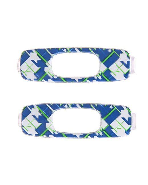 Oakley | Мужской Синий Сменный Логотип Batwolf Icon Retail Pair Blue