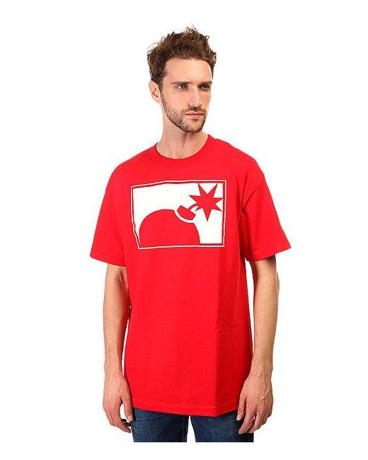The Hundreds | Мужская Красная Футболка Forever Half Bomb T-Shirt Red
