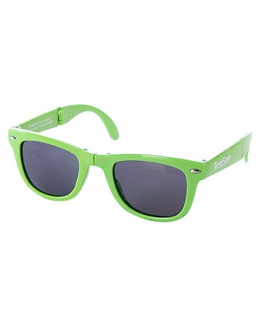 Truespin   Мужские Очки True Spin Folding Sunglasses Green