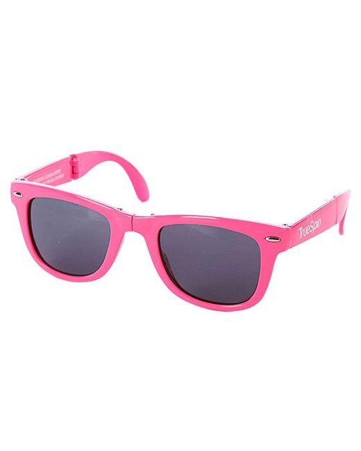 Truespin | Мужские Очки True Spin Folding Sunglasses Pink