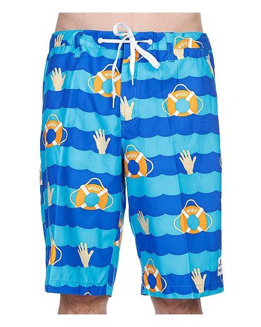 Enjoi | Мужские Синие Шорты Пляжные Cant Swim Trunk Blue