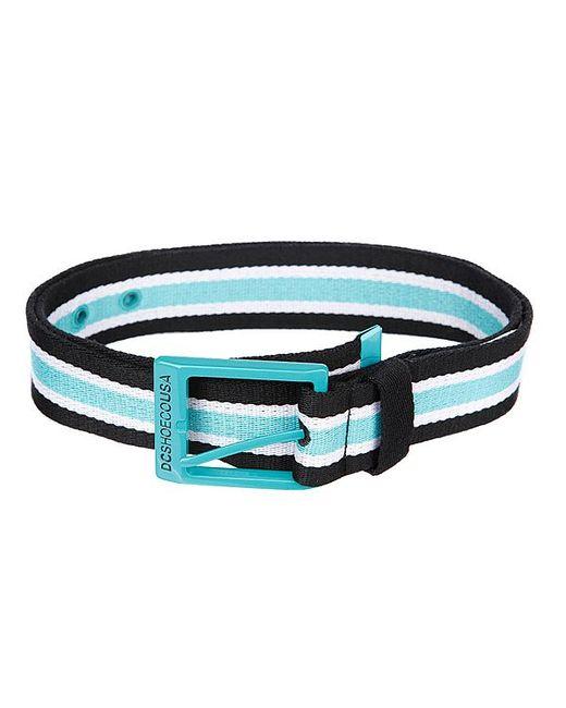 Dcshoes   Мужской Ремень Dc Rd Webster Belt Black/Cyan