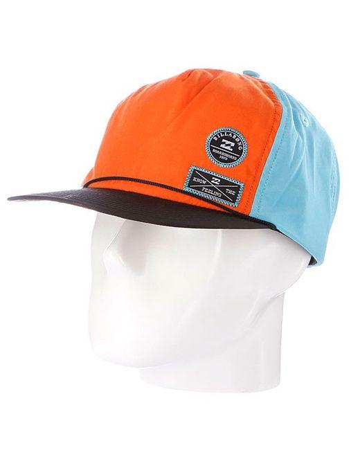 Billabong | Мужская Бейсболка Pump Cap-Clip Aqua