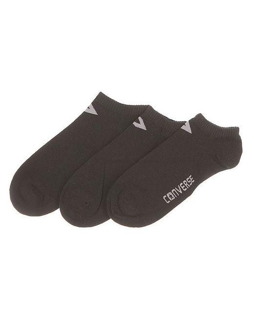 Converse | Женские Чёрные Носки Низкие Женские Socks Black