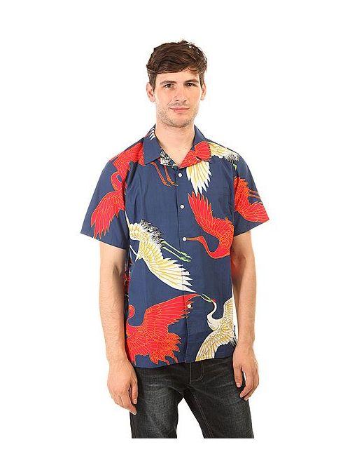 Stussy | Мужское Синий Cranes Shirt Navy
