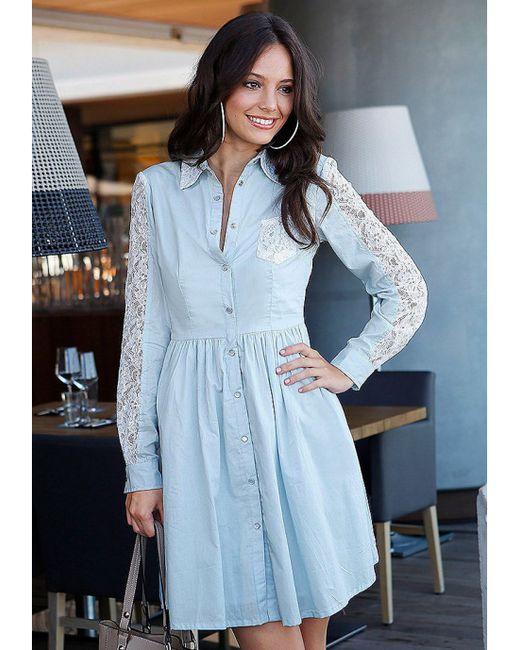 Y.O.U. | Женское Голубое Платье