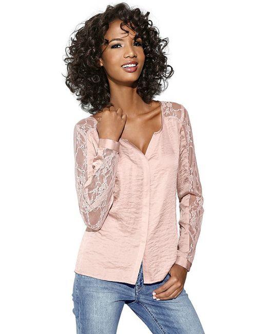 Linea Tesini | Женская Розовая Блузка