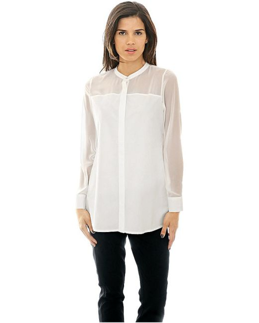 Patrizia Dini | Женская Белая Блузка