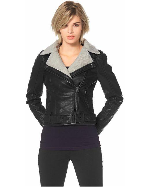Laura Scott | Женская Чёрная Куртка