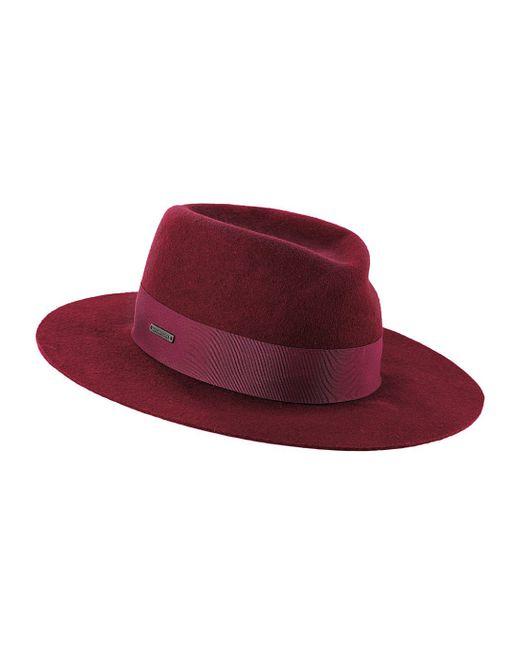 Seeberger | Женская Красная Шляпа