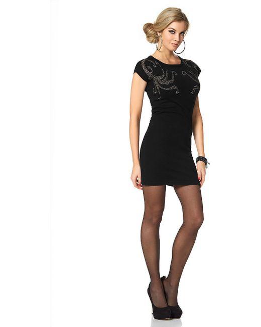 Melrose | Женское Чёрное Платье