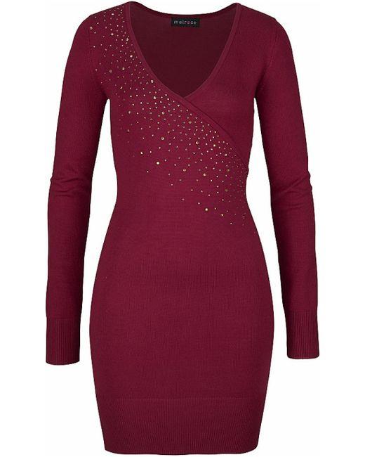 Melrose | Женское Красное Платье