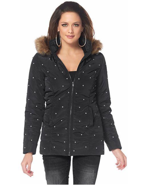 Melrose | Женская Чёрная Стеганая Куртка