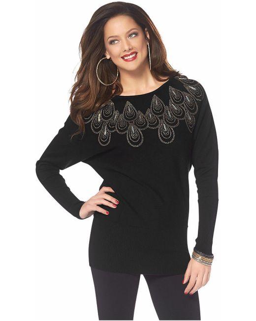 Melrose | Женский Чёрный Пуловер