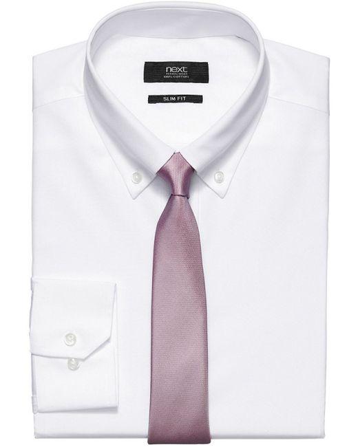 Next | Мужская Белая Рубашка