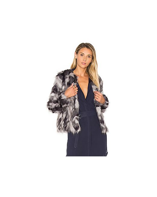 Tularosa | Женское Серое Пальто Из Искусственного Меха Averly