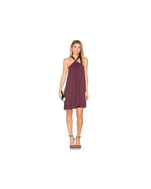 krisa | Женское Фиолетовый Loop Front Mini Dress