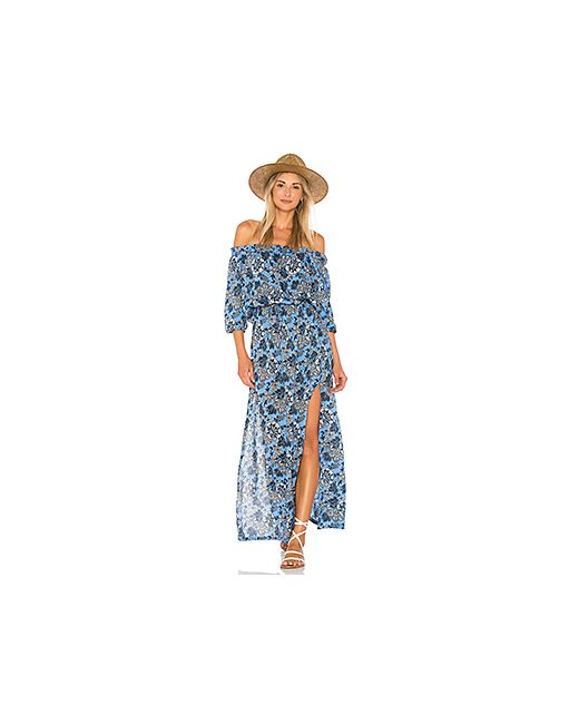 Tiare Hawaii | Женский Синий Макси Платье Sage