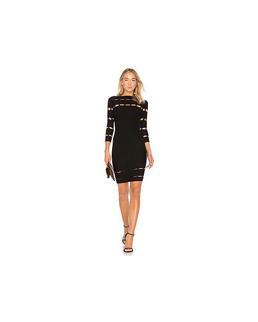 Bailey 44   Женское Чёрное Обтягивающее Платье Grandiose