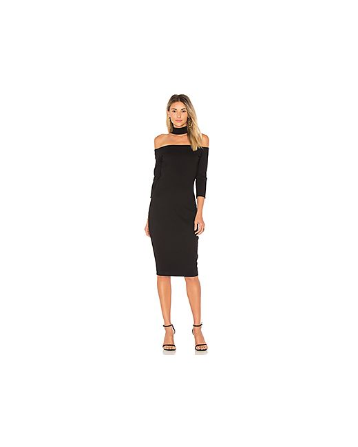 Bailey 44 | Женское Чёрное Платье С Открытыми Плечами Drama Queen