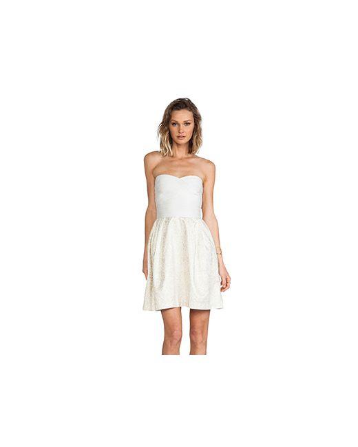 Erin Fetherston | Женское Кремовое Коктейльное Платье Elizabeth