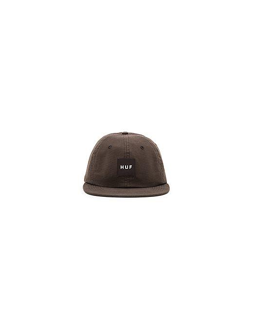 Huf   Мужская Чёрная Шляпа Logo 6 Panel