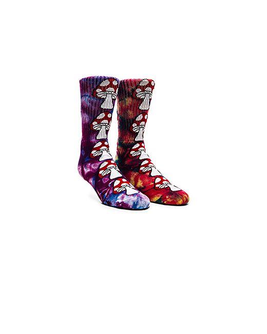 Huf | Женское Фиолетовый Две Пары Носков Tie Dye Magic