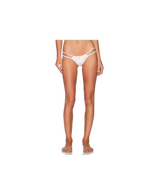 Frankies Bikinis | Женский Розовый Низ Бикини Oceanside