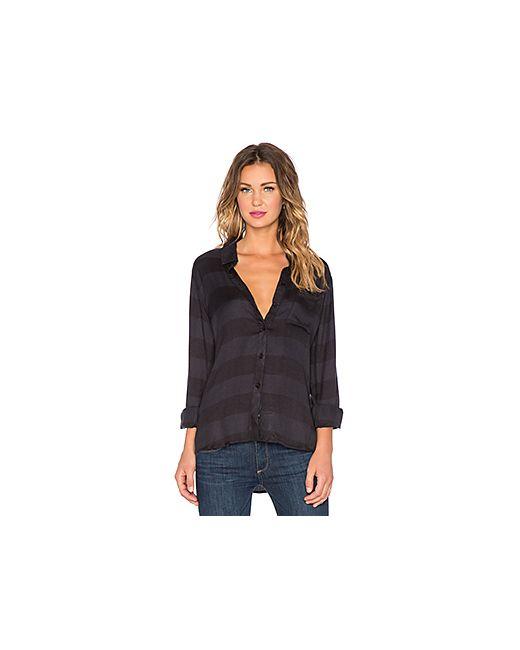 Rails | Женская Чёрная Рубашка На Пуговицах Hunter