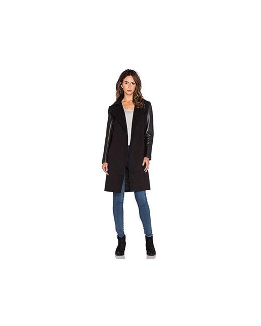 Muubaa | Женское Чёрное Пальто Campbell