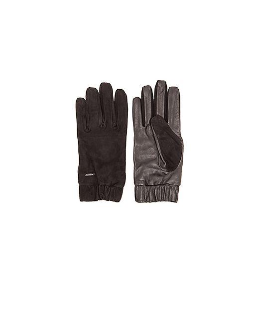 SCOTCH & SODA | Чёрные Перчатки Glove In Suede And Leather Quality