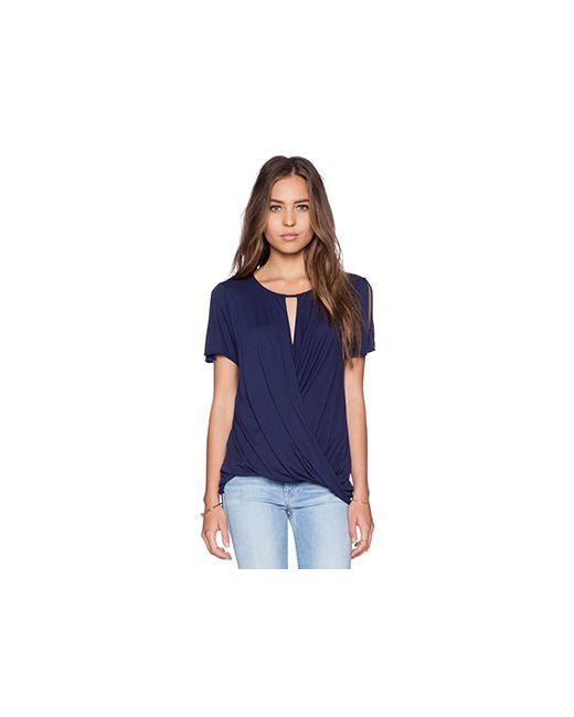 LA Made | Женская Синяя Блузка Farrah