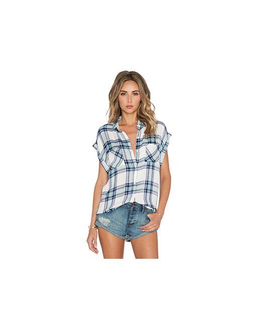 Rails   Женская Белая Рубашка Britt