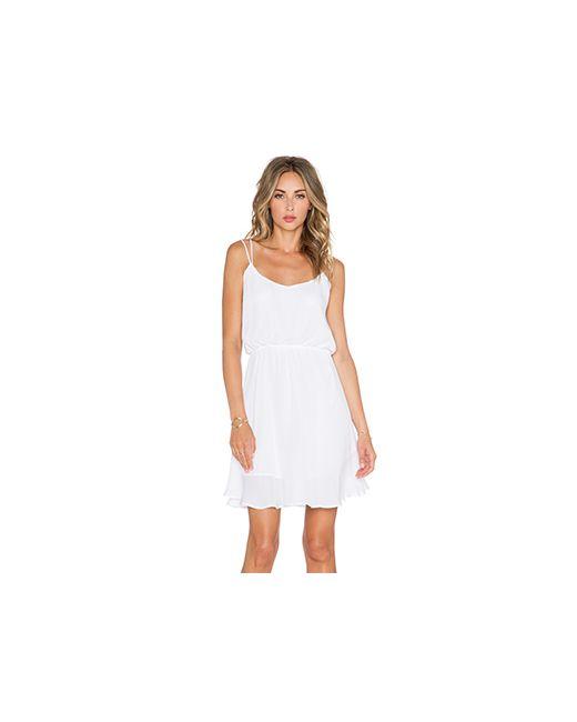 Myne | Женское Белое Платье Rose