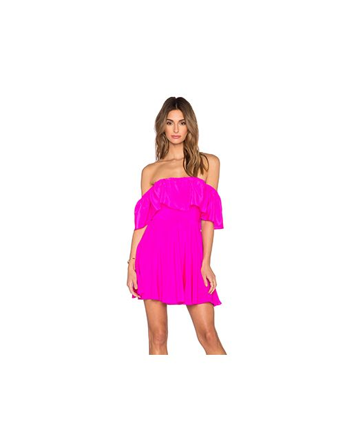 Amanda Uprichard | Женское Розовый Delilah Dress