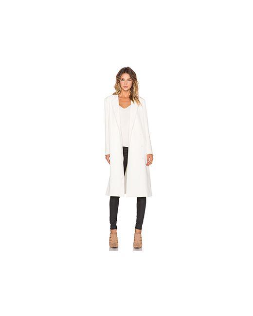 TY-LR | Женское Слоновая Костящее Пальто