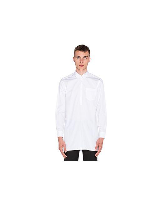 Etudes Studio | Мужской Белый Длинный Рукав Medina Shirt