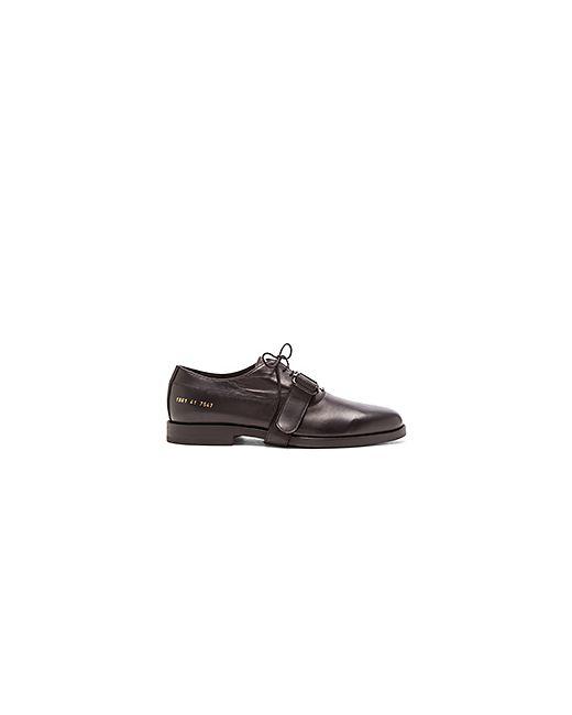 ROBERT GELLER   Мужская Чёрная Обувь Leather Druby