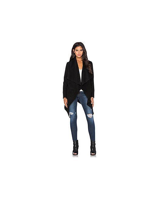 Bb Dakota | Женская Чёрная Шерстяная Куртка Nico