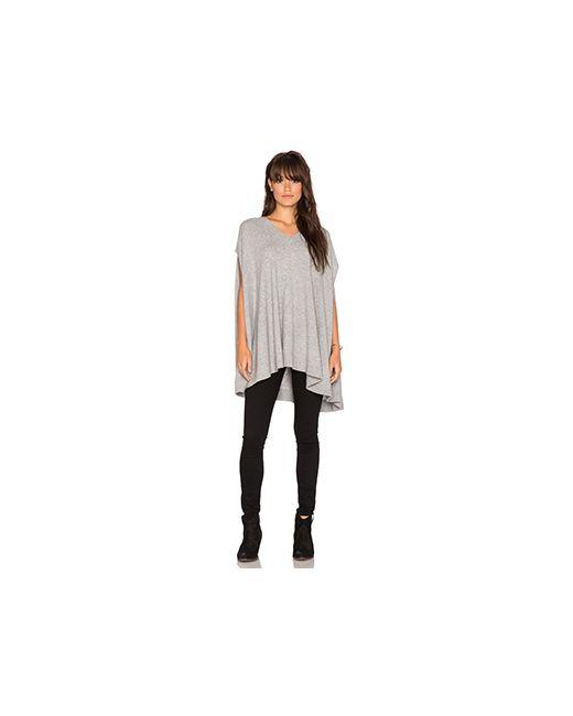 360 Sweater | Женская Серая Накидка Luisa