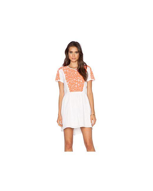 Dress Gallery   Женское Белое Платье Selena