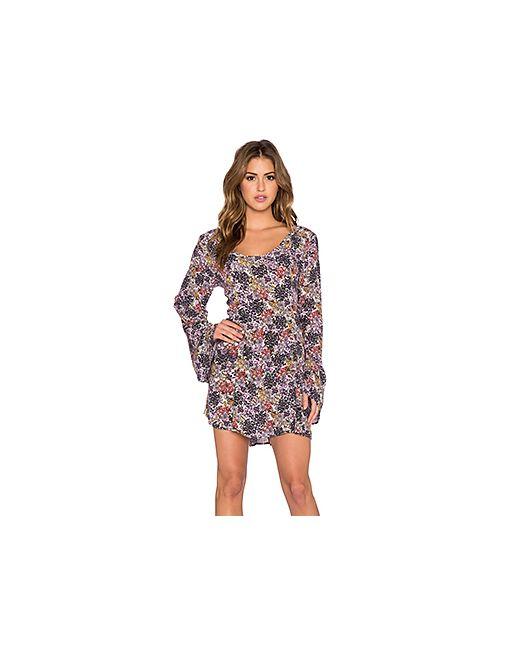 Somedays Lovin | Женское Фиолетовое Платье В Цветочек Faithful
